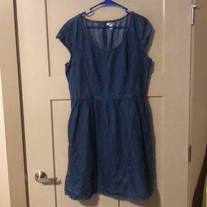 Old Navy Denim Dress with Pockets